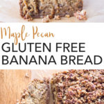 pin for gluten free banana bread
