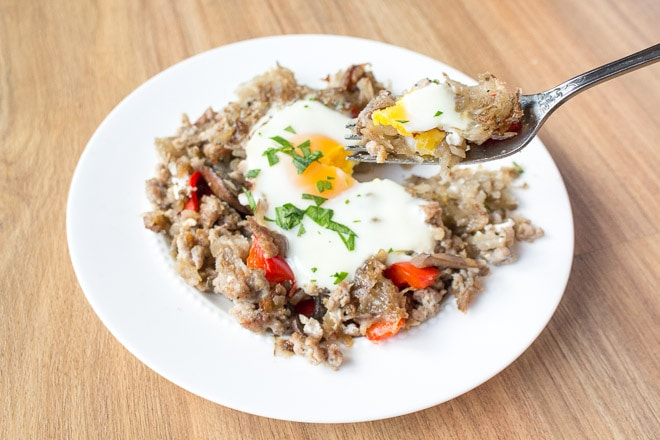 potato-breakfast-hash-sausage-mushrooms-peppers