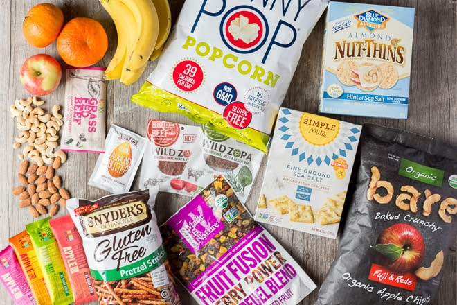 Gluten Free Snacks that don't require refrigeration