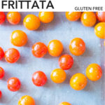 pin for gluten free breakfast frittata