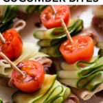 pin for whole30 cucumber bites