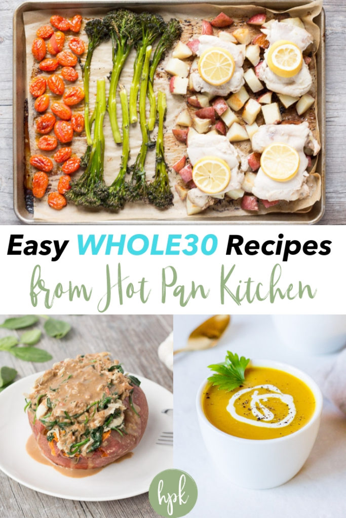 pin for easy whole30 recipes