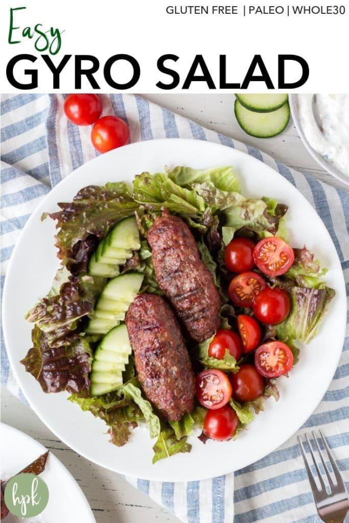 pin for gyro salad