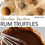 pin for rum truffles