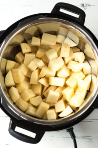 diced potatoes in instant pot