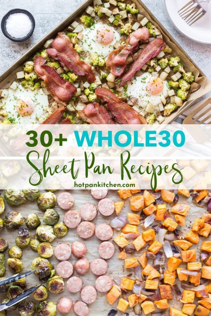 pin for whole30 sheet pan meals