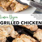 pin for lemon dijon grilled chicken