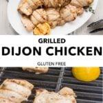 pin for whole30 dijon chicken