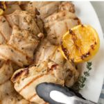 pin for grilled dijon chicken