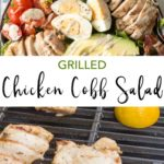 pin for chicken cobb salad