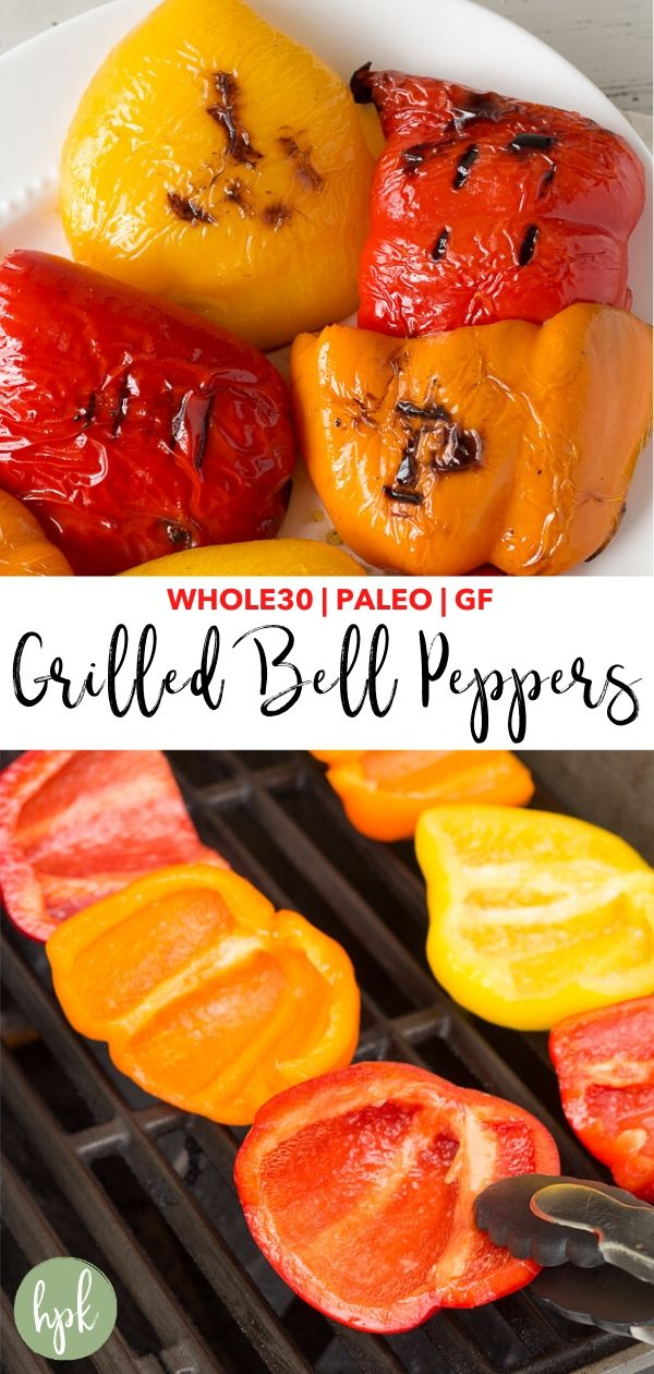 pin for grilled bell peppers
