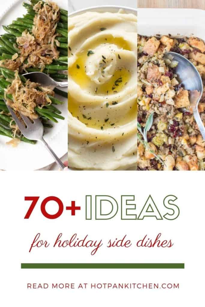 pin for gluten free holiday side dishes