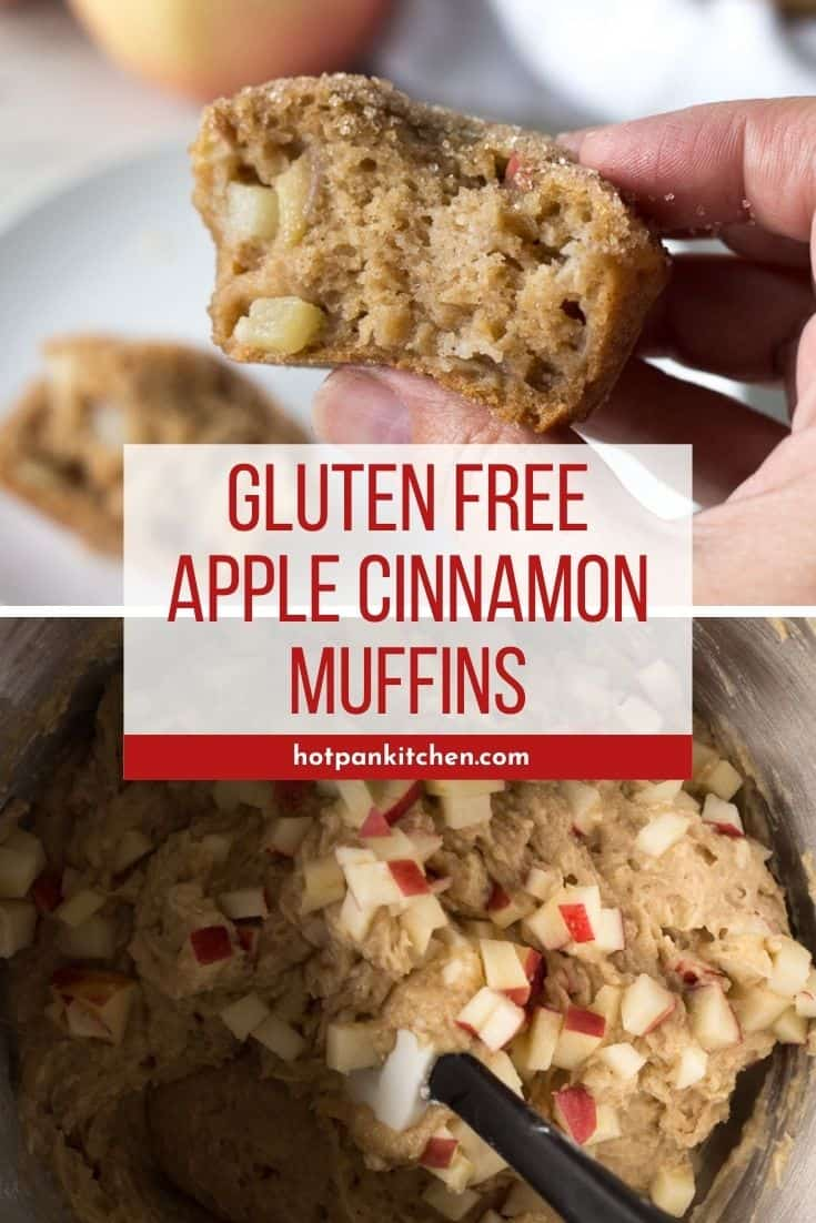 pin for apple cinnamon muffins