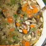 pin for turkey and rice soup