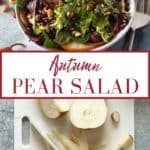 pin for pear salad