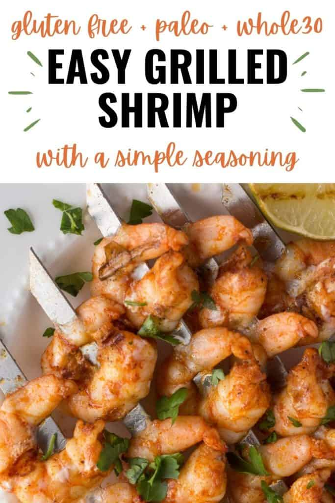 pin for simple grilled shrimp recipe