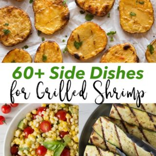 pin for what to serve with grilled shrimp