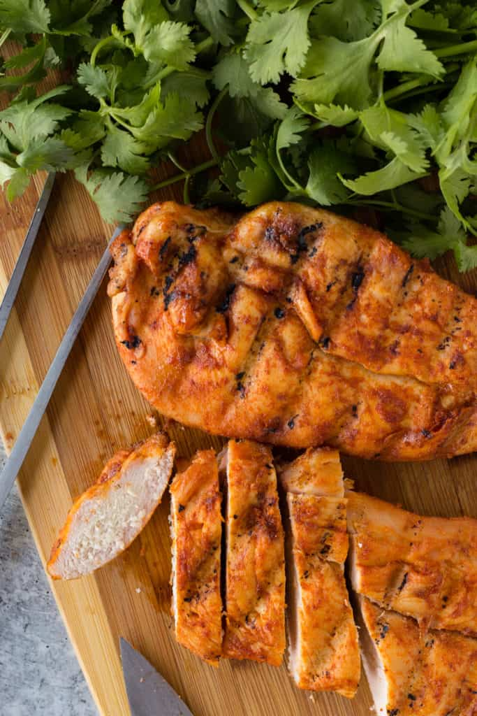 This Traeger Smoked Chicken Breast is the perfect dinner options. The boneless skinless chicken breast turns out juicy and flavorful thanks to a wet brine and an easy dry rub. Eat it on its own or put it on a salad, either way you've got a delicious meal.
